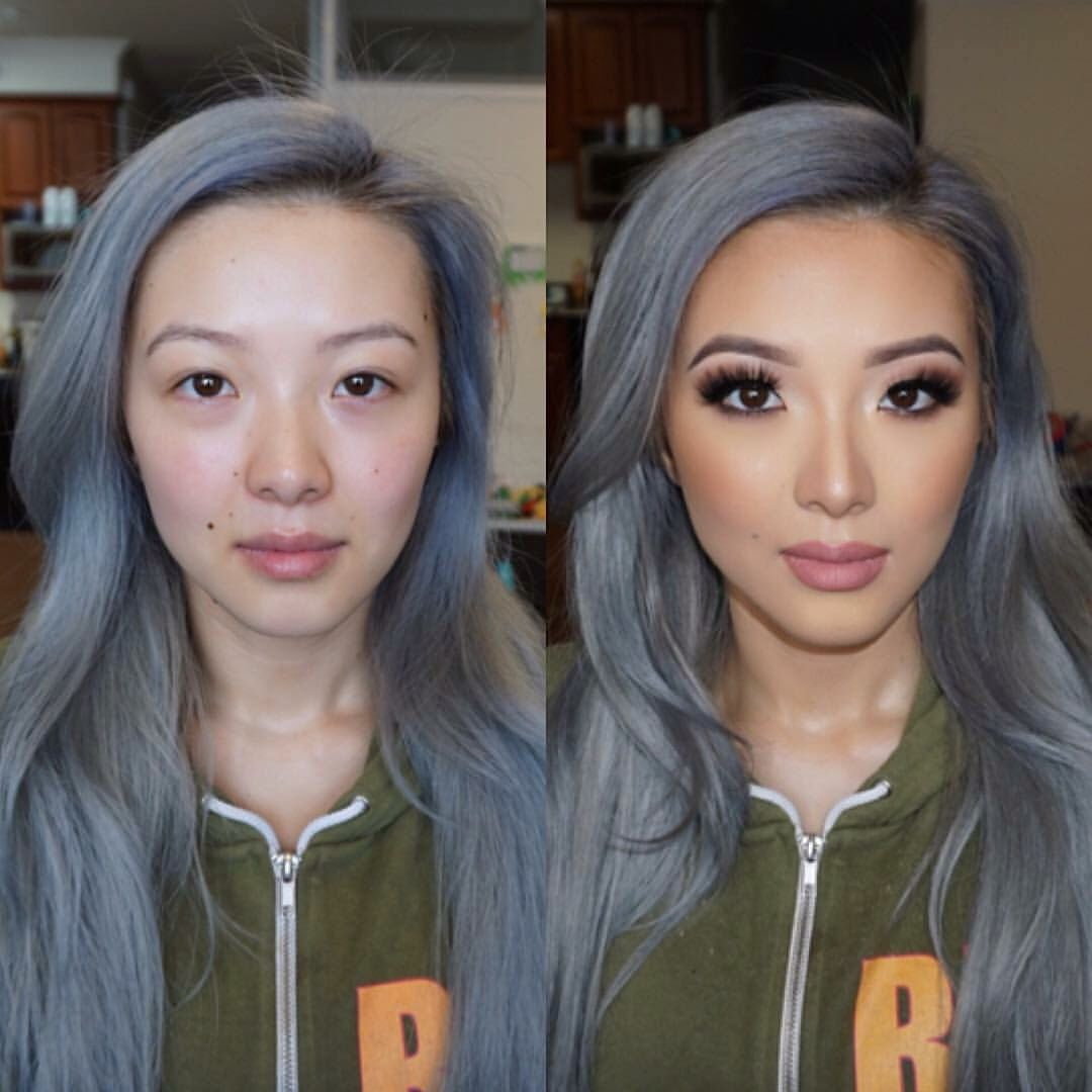 Before After Asian Makeup Asian Wedding Makeup Prom Makeup