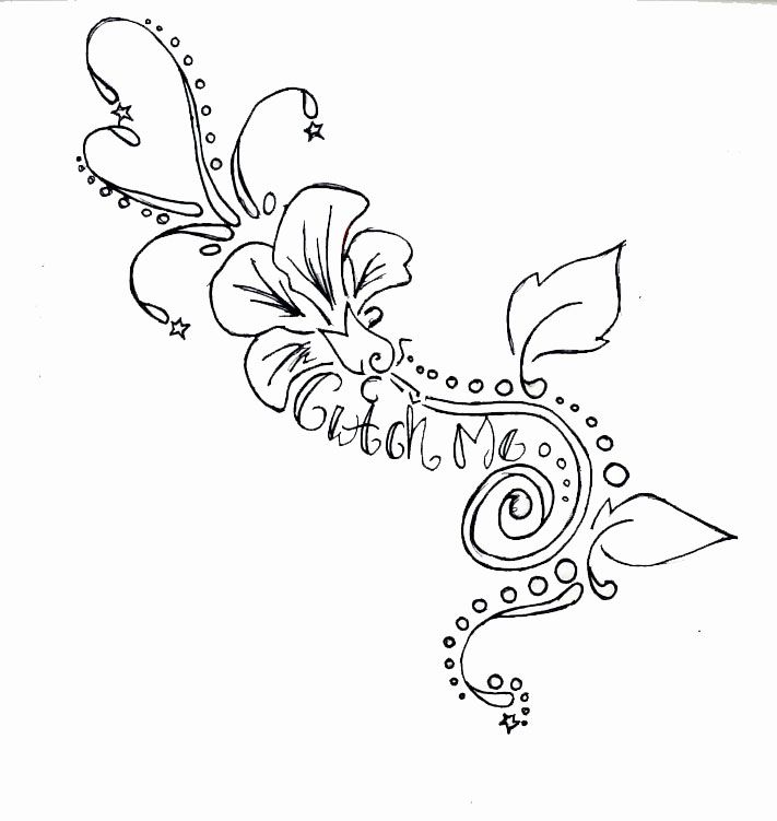 Flower Tattoo by malicious-heart i carry your heart... | inked ...