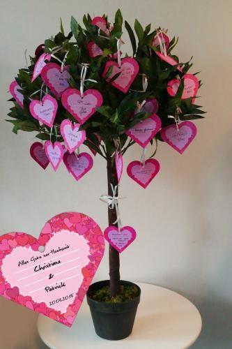 Set Hochzeitsbaum Mit Anhanger Baum Hochzeit Geschenk Hochzeit Silberhochzeit Geschenk