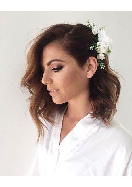 Stunning Short Hairstyles for Your Wedding Day