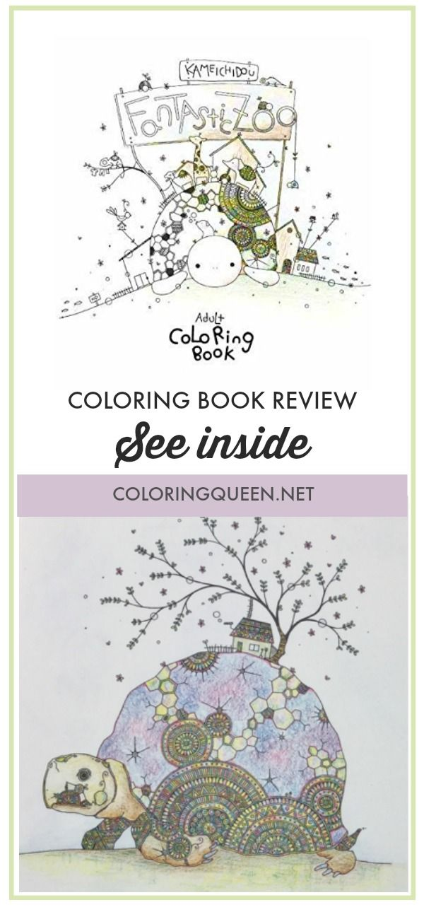 Pin On Coloring Book Reviews By Coloring Queen