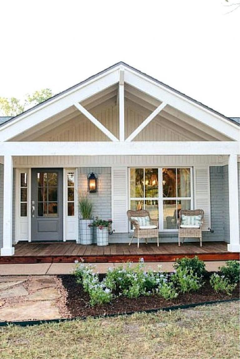 25 Best And Wonderful Front Porch Ideas House Exterior Modern Farmhouse Exterior Porch Design