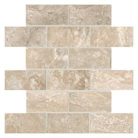 American Olean Laurel Heights 12 Pack Elevated Beige Brick