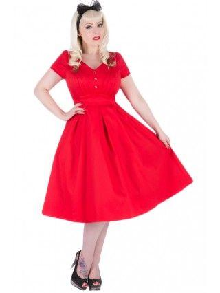 Women's Scarlett Dress - Red