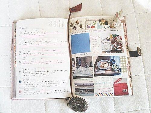今日から新しい手帳(♡˙³˙) 無印良品の手書き手帳!! もう3年くらいこの手帳✏ pic.twitter.com/R619jOPOD9