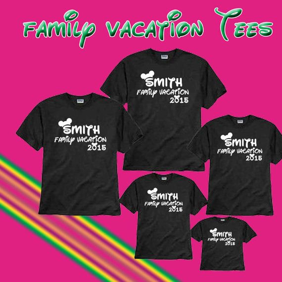 Disney family shirts disney vacation shirts disney world for Custom shirts fast delivery