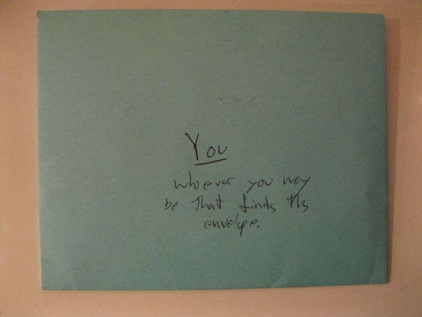 Leave a Christmas card with spare cash in it in a random place addressed to whoever finds it.