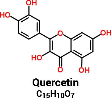 Image result for quercetin formula