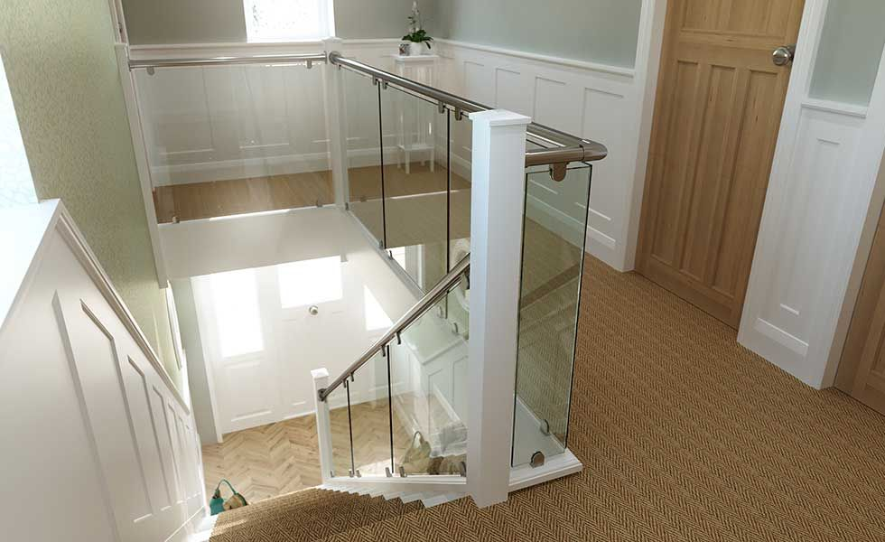 Best Staircase Glass Balustrade Jpg 980×600 Staircase 400 x 300