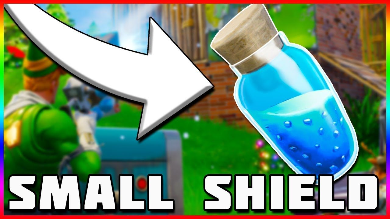 Small Shield Potion Trap Changes Fortnite Battle Royale Tips