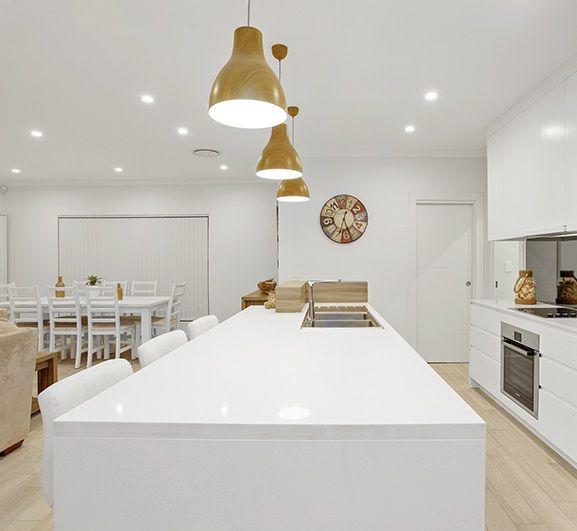 Remarkable Belle Kitchens Kitchen Benchtop Featuring Smartstones Inzonedesignstudio Interior Chair Design Inzonedesignstudiocom