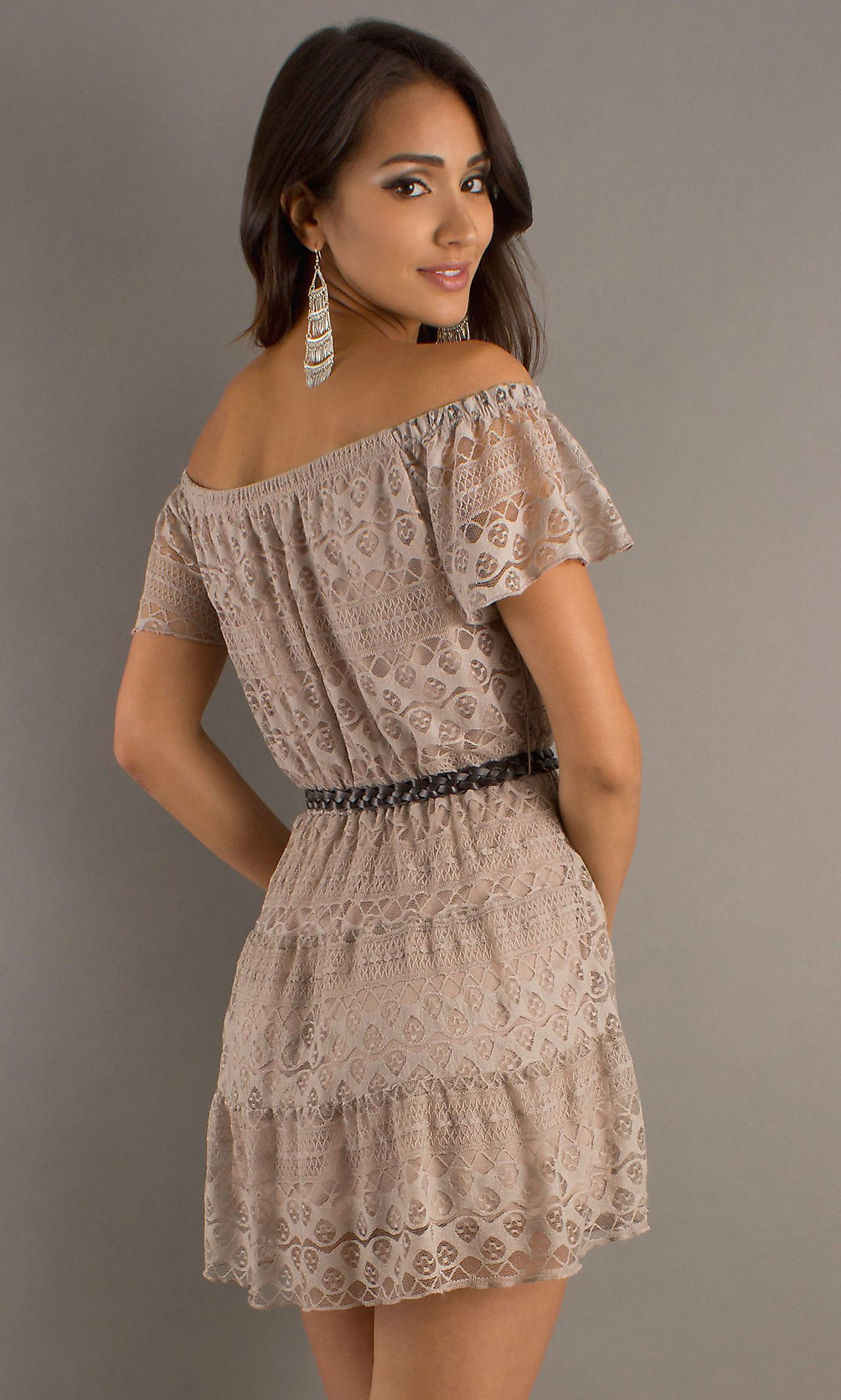Short casual lace dress mylad promgirl cute for hannah