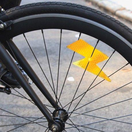 Lightning Bolt Reflector Bicycles Pinterest Bicycling Bike
