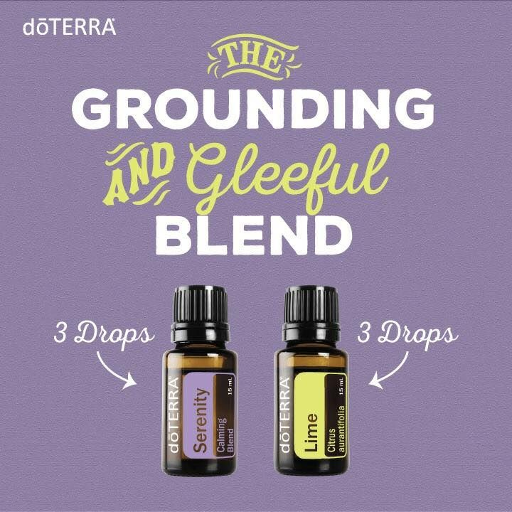 Doterra Diffuser Blend Serenity Product User Guide Instruction