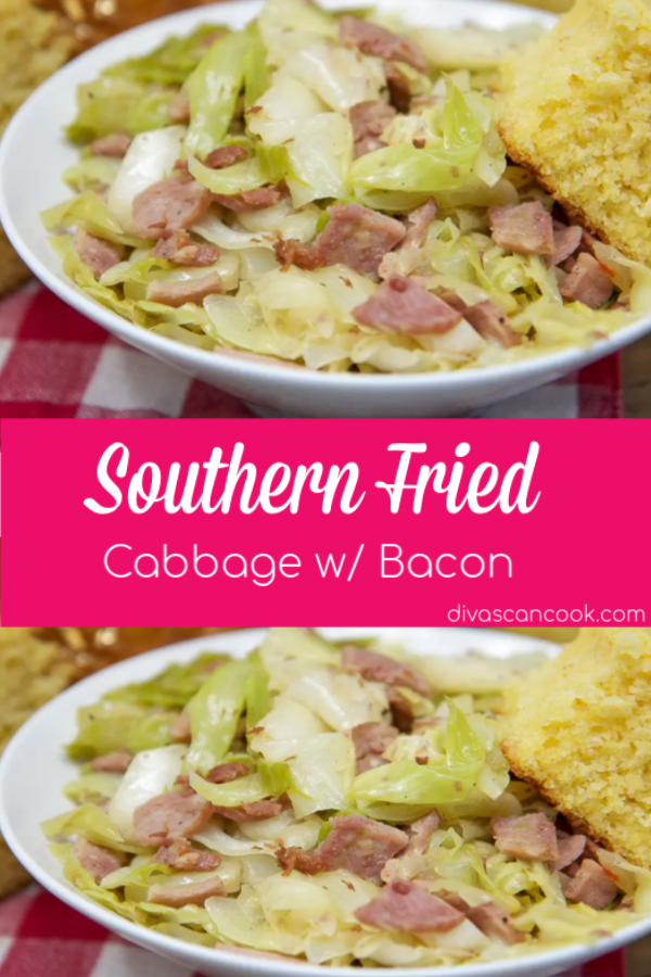 Southern Fried Cabbage w/ Bacon The BEST easy recipe