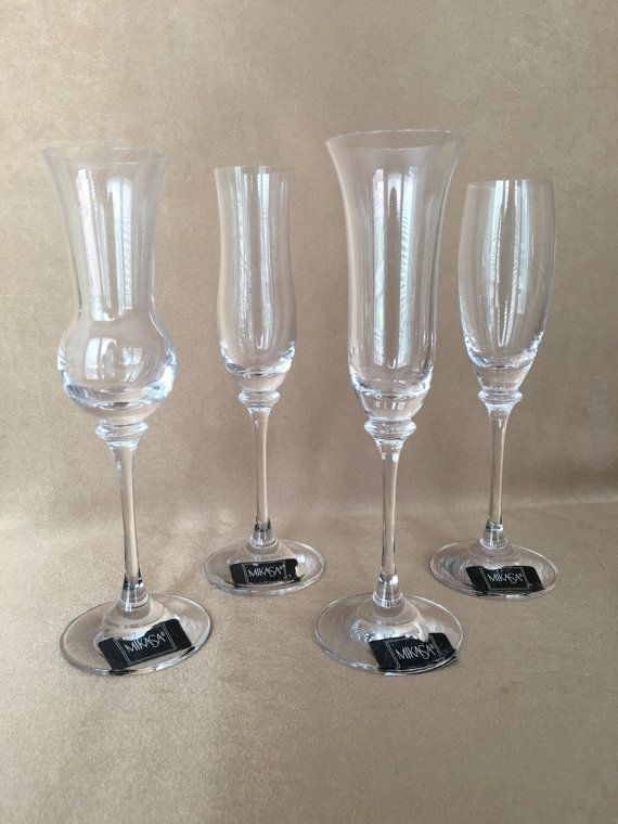 Nice Mikasa Crystal, Cordial Glasses, Tall Stem, Mikasa Boxed Set, Vintage  Barware, Aperitif Glass, Champagne Flutes, Bart Cart Glasses, Home Bar