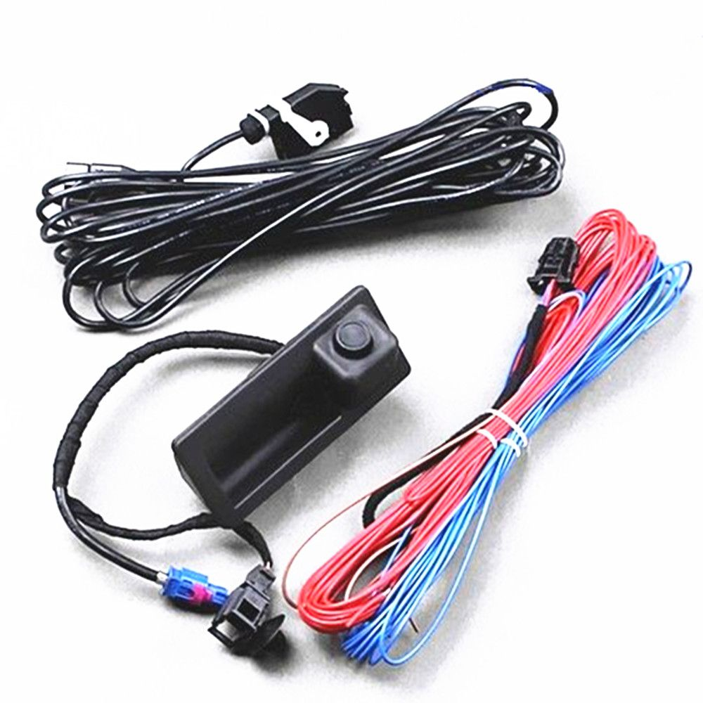 Rns310 Rns315 Rcd510 Rns510 Oem Rear View Reversing Camera Cables Reverse Wiring Wires For The Light Kit Vw Passat B7 Jetta Mk6 Tiguan Touareg 56d 827 566 A