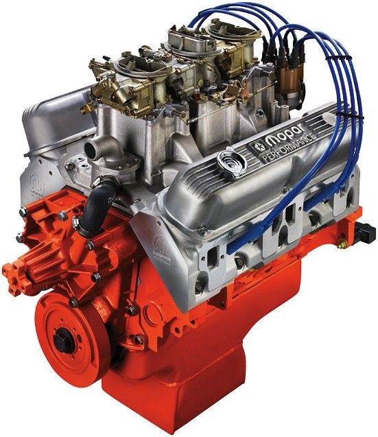 Mopar Performance 410ci SIX PACK Crate Engine - 340cid block