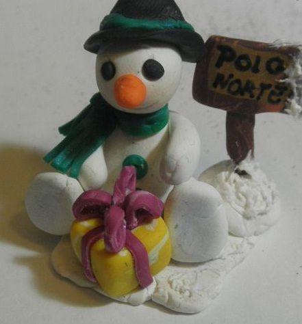 Manualidadesmueco de nieve Manualidades originales Navidad