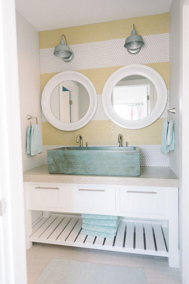 House Of Turquoise Design Loves Detail Bathroom Pool House Bathroom Home Decor House Bathroom