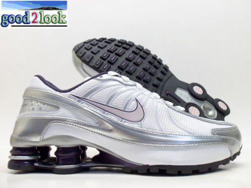 Nike Shox Turbo VII GS White Venice Silver 6Y Women's 7 5 325067 151 | eBay