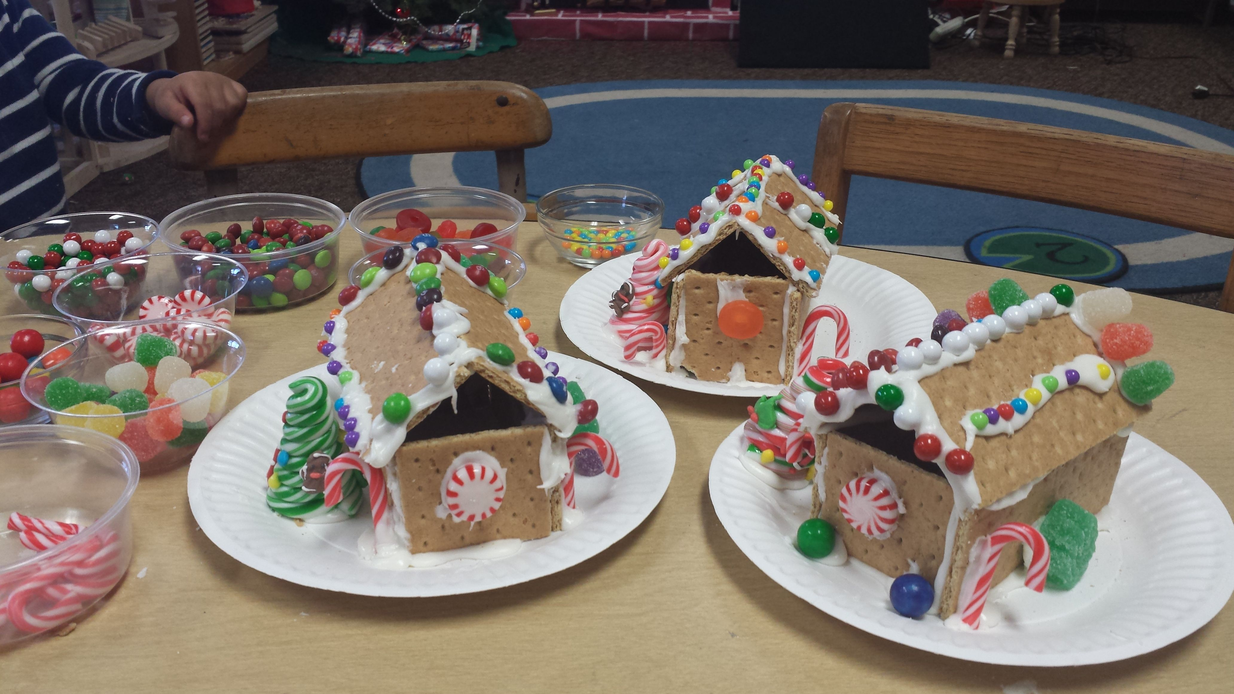 We Made Gingerbread Houses