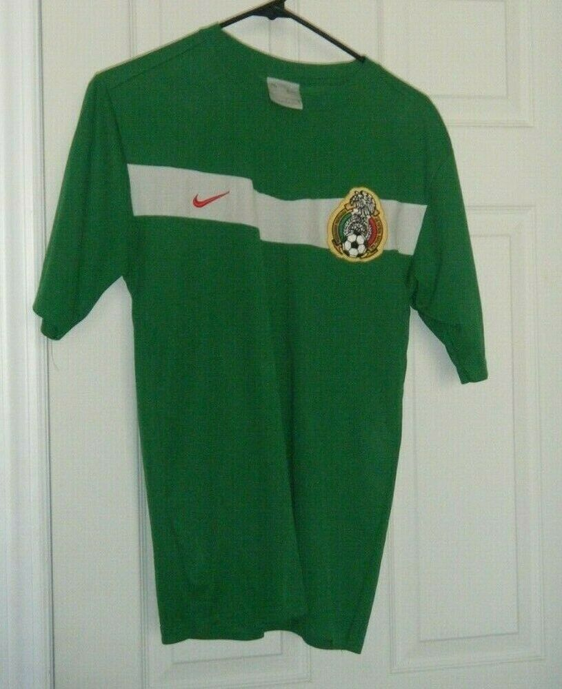 e5c885766f7 Mexico National Vintage Nike World Cup Futbol Soccer Jersey Men's Lg Used # Nike #Mexico