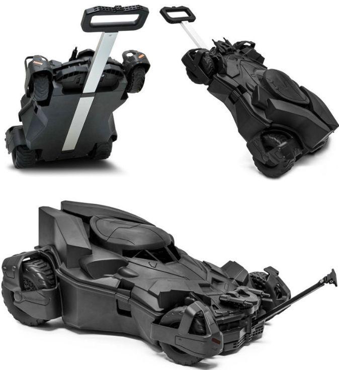 Kids Batman Car Play Suitcase Batmobile Toy Luggage Boy's Gift ...