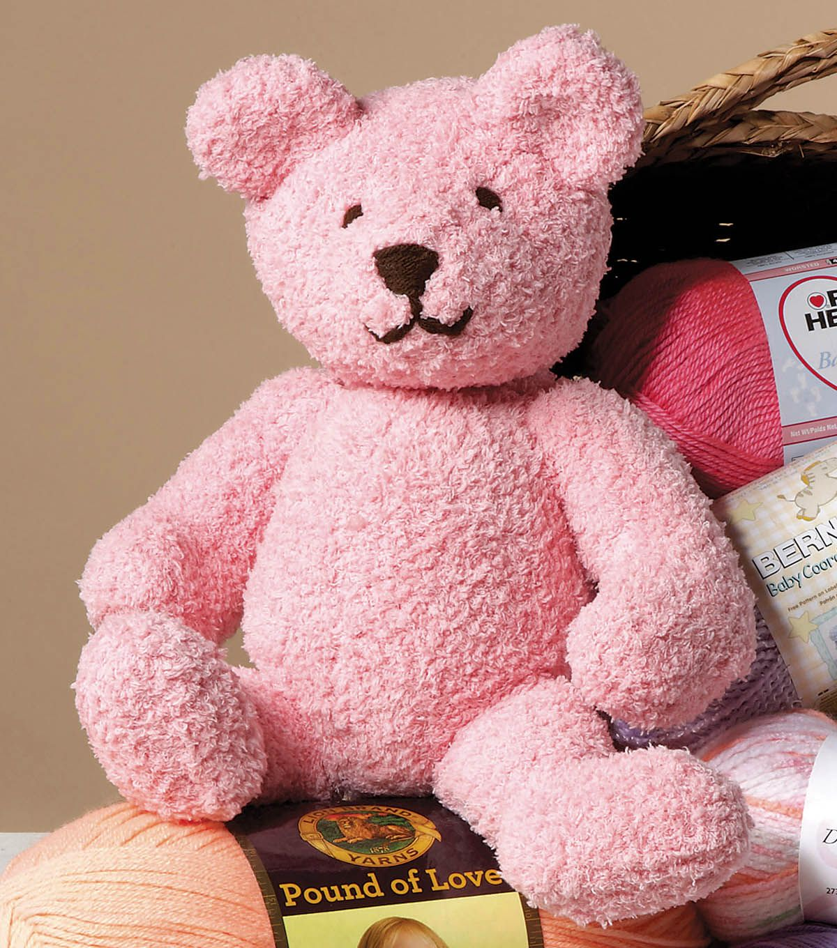 Free Pattern: Oso Cute Bear (Bernat® Pipsqueak™ Yarn) #amigurumi ...