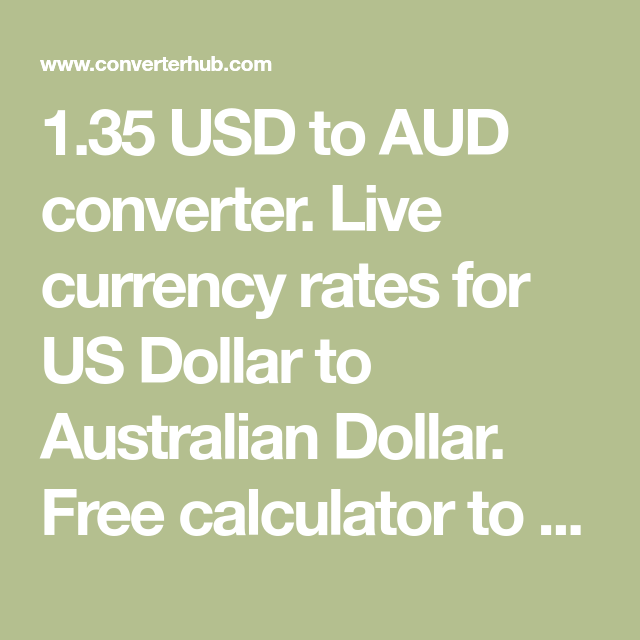 Aud Converter Live Currency Rates