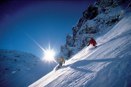 Heli Skiing in Switzerland