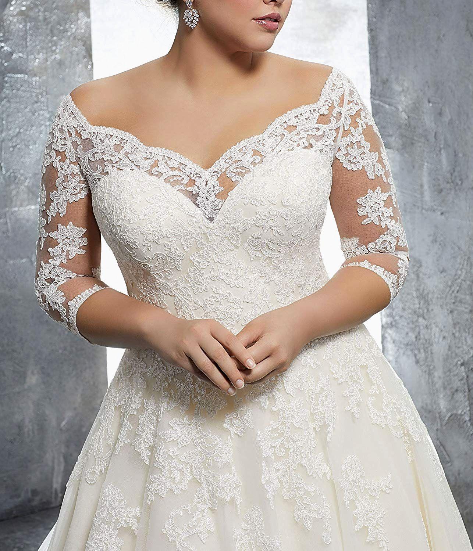 25 lace vintage wedding gown plus wedding dresses