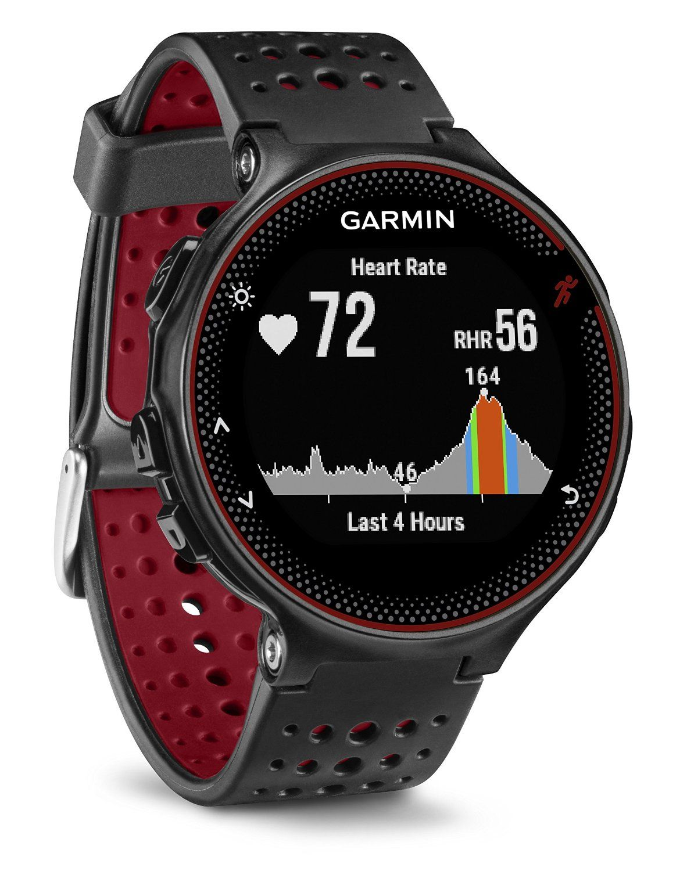 8328fabb970d Garmin Forerunner 235 - Montre de Running GPS avec Cardio au Poignet -  Noir Rouge  Amazon.fr  GPS   Auto