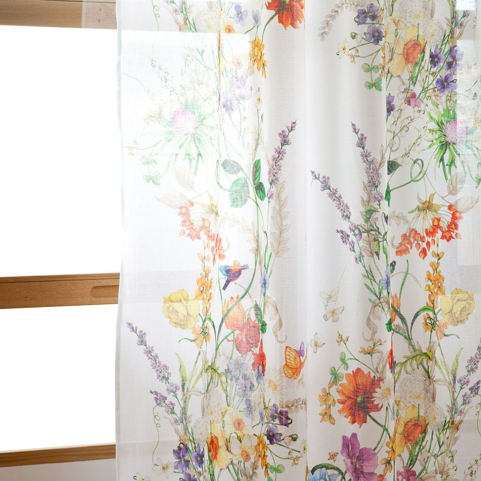 Perdea de in cu flori perdele decora iuni zara home romania draperii e pinterest room - Cortinas salon zara home ...