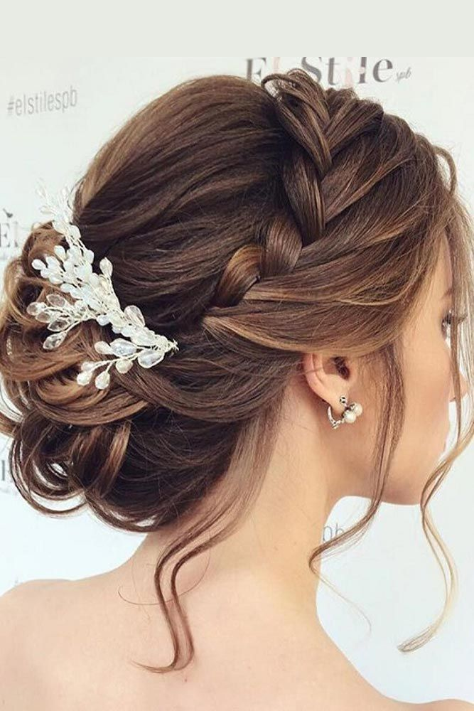 27 Chic Updos For Medium Hair Hair And Beauty Pinterest