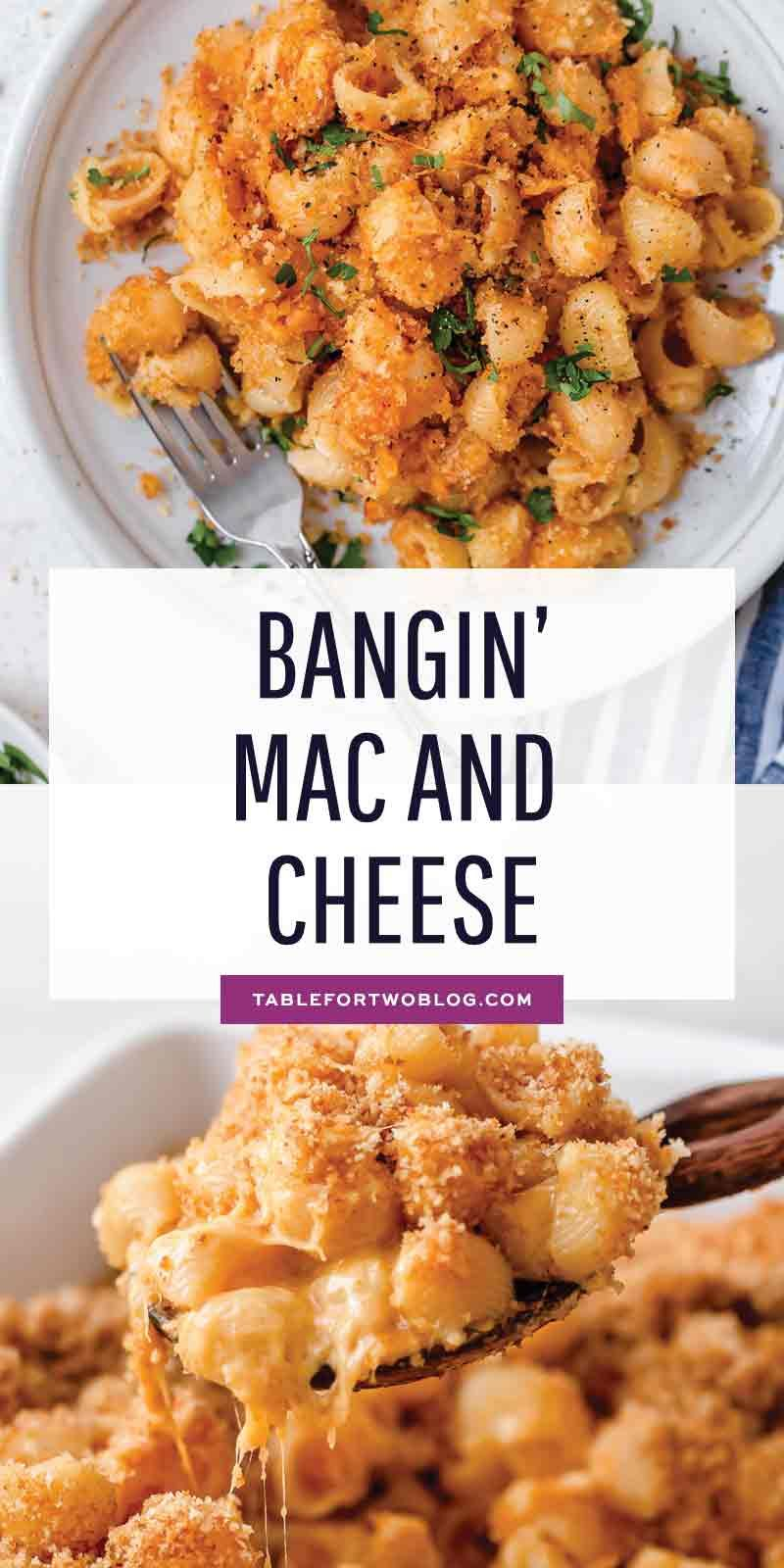 Photo of Bangin' Mac and Cheese – Comforting Mac and Cheese Recipe