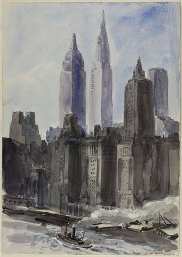 Reginald Marsh - New York, 1932.
