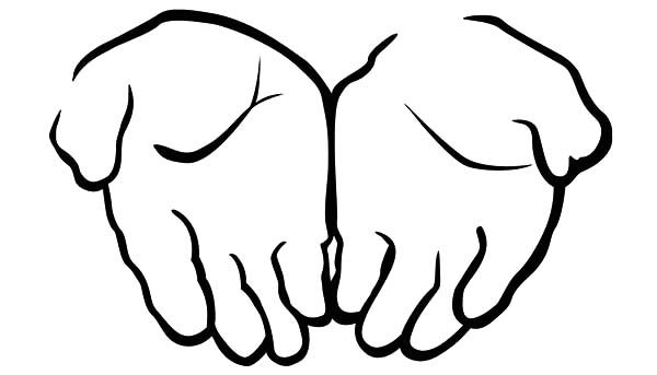 Praying Hands Coloring Page Praying Hands Prayer Hands Praying