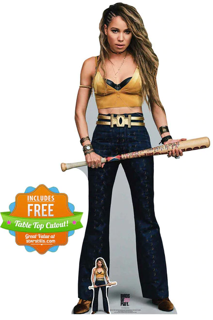 Our Black Canary From Birds Of Prey Cardboard Cutout Is Great For Superhero Parties Collector S Gifts Free Uk In 2020 Birds Of Prey Black Canary Dinah Laurel Lance