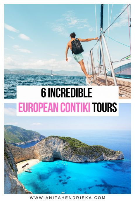 6 Incredible Europe #Contiki #Tours to Go On. Fancy touring around #Europe in style and not having the worry about the stress of planning and booking a trip?  Then Contiki might be a fabulous option for you. #europetravel #europeantours #tourtravel #Italy #France