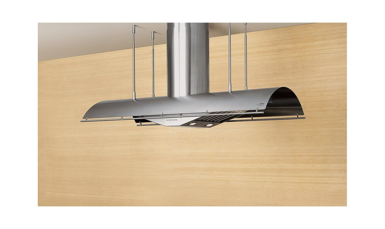 Zephyr Ctp E54bsx Stainless Steel 54 Inch Wide Island Range Hood Less Blower From The Trapeze Series In 2021 Island Range Hood Stainless Steel Range Hood Range Hood