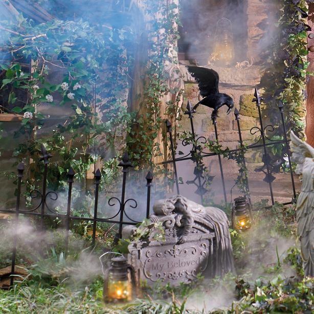 Gothic Metal Fence Halloween Pinterest Metal fences, Gothic - halloween decorations ideas yard