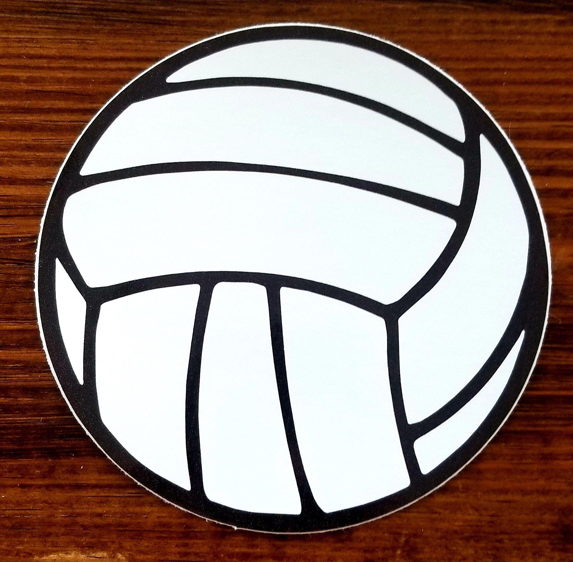 Volleyball Sticker In 2021 Volleyball Stickers Preppy Stickers [ 1914 x 1950 Pixel ]