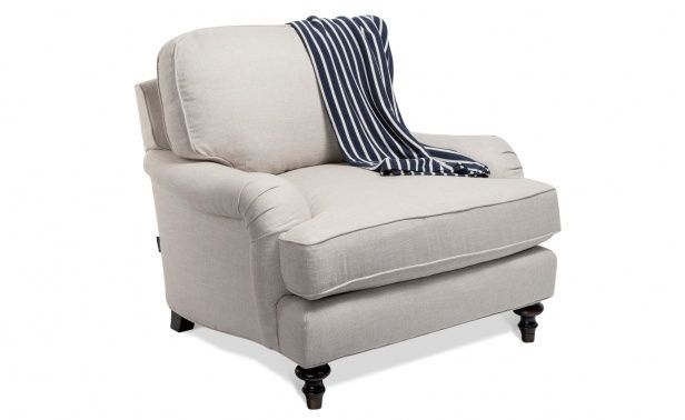 Elegant Coco Republic Sloane English Rolled Arm Chair