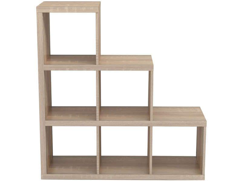 Bibliotheque Escalier 6 Cases 608701 Home Decor Shelves Home