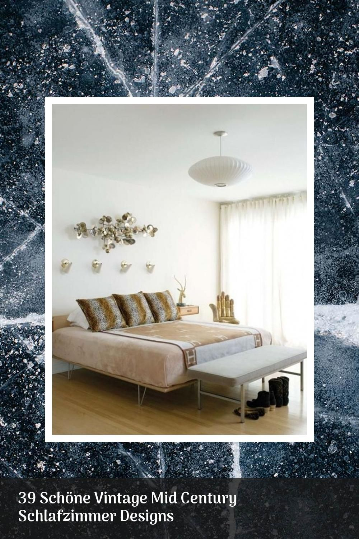 Topic 39 Schöne Vintage Mid Century Schlafzimmer Designs -