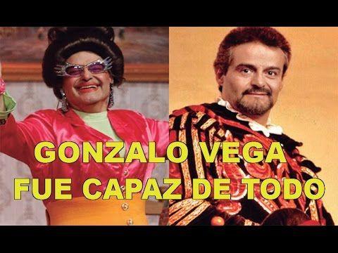 Gonzalo Vega, el actor que fue capaz de todo  | Noticias al Momento
