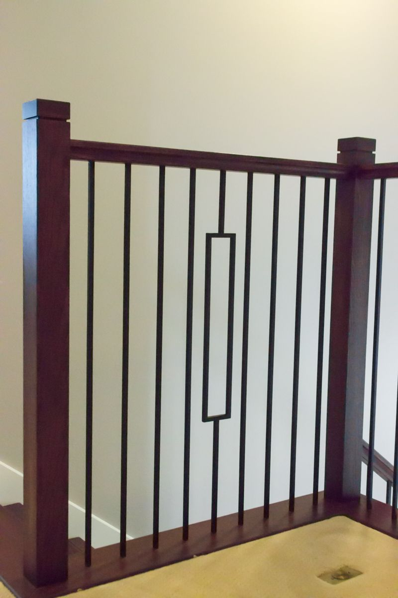 Best This Staircase Uses High Quality Wrought Iron Balusters To 640 x 480