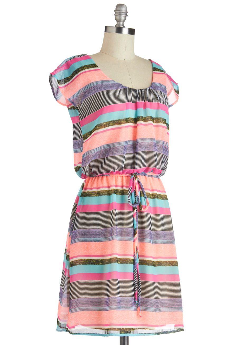 Highlight Up My Life Dress | Mod Retro Vintage Dresses | ModCloth.com
