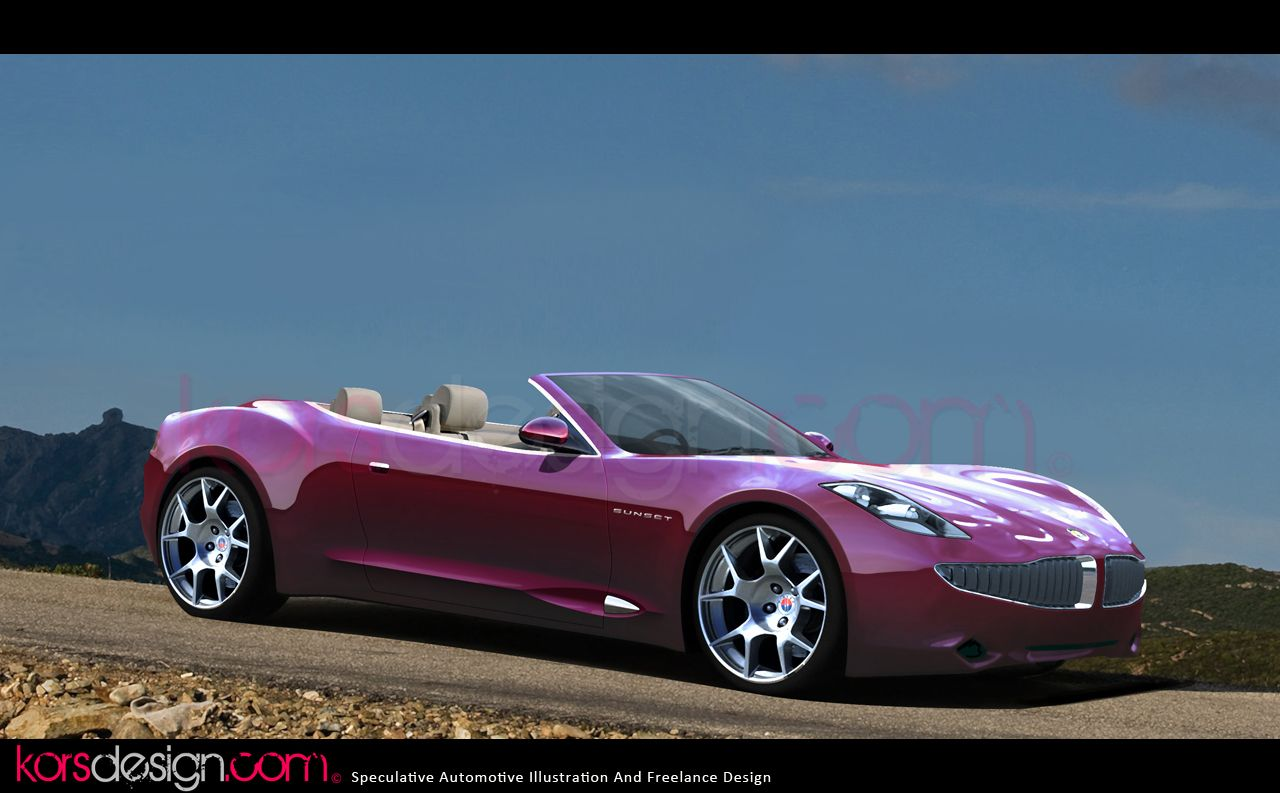 Fisker karma sunset comme a